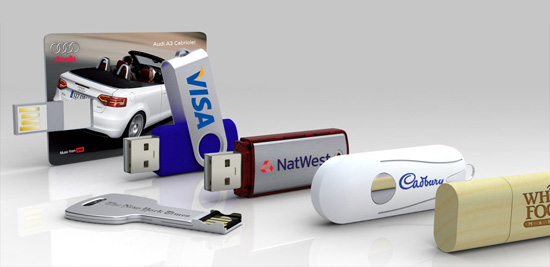 Different models of customized usb flash drives