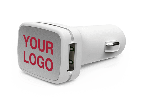 Zip - USB Car Charger Promotional Item