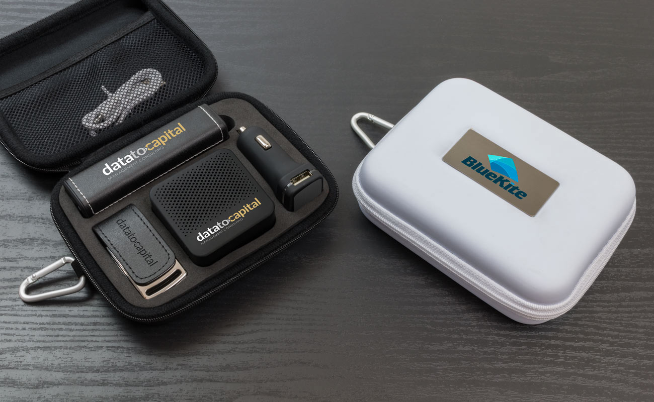 Leather L - USB Promotional, Credit Card Power Bank, Promotional Car Charger and Custom Speakers